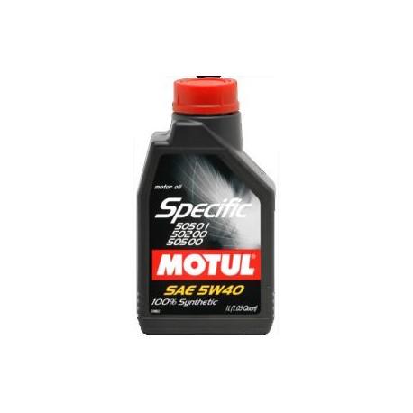 Motul specific 505 00, 505 01, 505 02 5W-40 1L