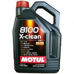 Motul 8100 X-Clean 5W-40 5L Articol_147