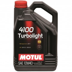 Motul 4100 Turbolight 10wW-40 4L