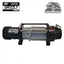 Troliu Grizzly Winch 9500lbs (4310kg) cablu otel