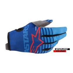 Manusi Alpinestars MX Radar blue/navy blue
