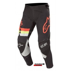 Pantaloni ALPINESTARS MX TECHSTAR VENOM colour black/fluorescent/red/yellow