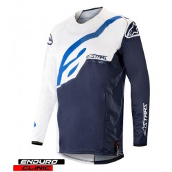 Tricou ALPINESTARS MX TECHSTAR FACTORY colour navy blue/white