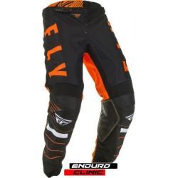 Pantaloni FLY RACING KINETIC K120 colour black/orange/white