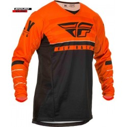 Tricou FLY RACING KINETIC K120 colour black/orange/white