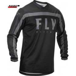 Tricou FLY RACING F-16 colour black/grey