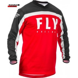 Tricou FLY RACING F-16 colour black/red/white