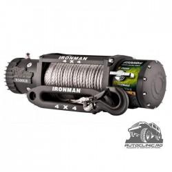 Troliu Wireless Ironman4x4 9500lbs (4310kg) 12V plasma Dyneema 8mm GARANTIE 5 ani