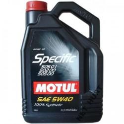 Motul specific 505 00, 505 01, 505 02 5W-40 5L Articol_148