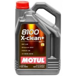 Motul 8100 X-Clean + 5W-30 5L